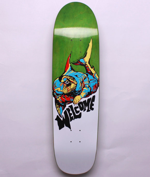 Welcome Skateboards - Otter -on Sylphstick