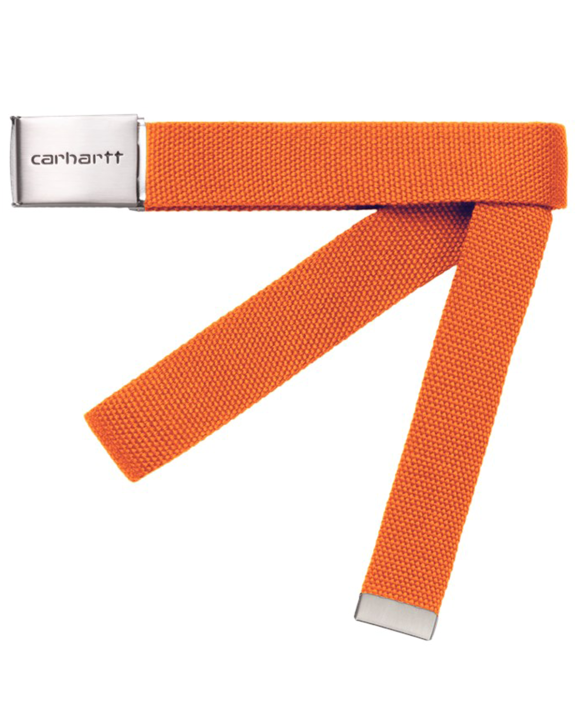 Carhartt WIP - Clip Belt Chrome