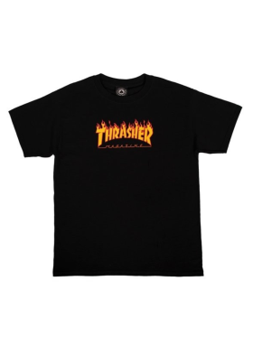 Thrasher - Flame Logo Tee Youth