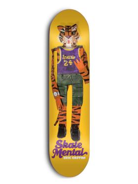 Skate Mental - Tiger Orange