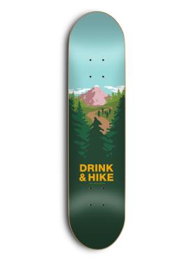 Skate Mental - Drink & Hike