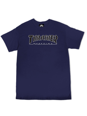 Thrasher - s/s tee Outlined