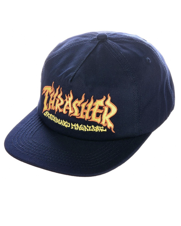 Thrasher - Fire Logo Cap