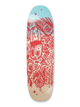 UMA Skateboards - Right Side Tmuck shaped